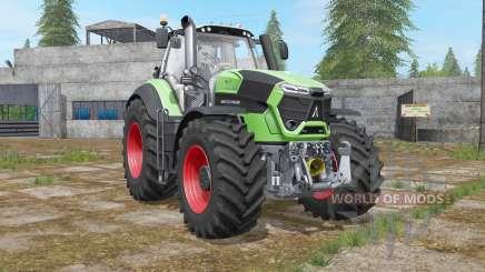 Deutz-Fahr 9-series TTV Agrotron engine upgrade для Farming Simulator 2017