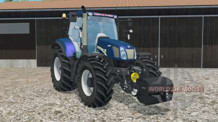 New Holland T6.160 with weight для Farming Simulator 2015