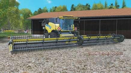 New Holland CR10.90 with header для Farming Simulator 2015