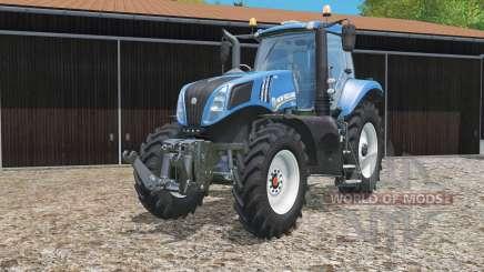 New Holland T8.320 narrow wheels для Farming Simulator 2015