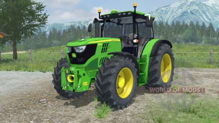 John Deere 6150R animated hydraulic для Farming Simulator 2013