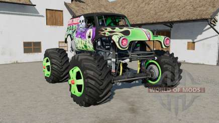 Grave Digger Monster Truck для Farming Simulator 2017
