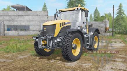JCB Fastrac 3200 Xtra with Nokian tires для Farming Simulator 2017