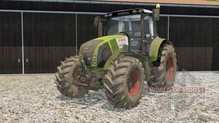Claas Axion 820 для Farming Simulator 2015
