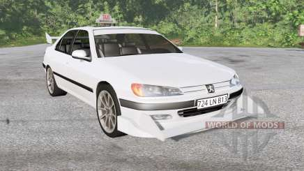 Peugeot 406 Taxi для BeamNG Drive