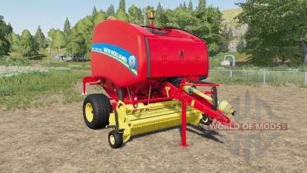 New Holland Roll-Belt 460 North American для Farming Simulator 2017