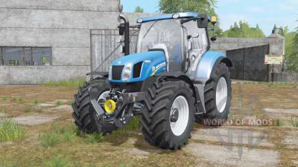New Holland T6.140&T6.160 для Farming Simulator 2017