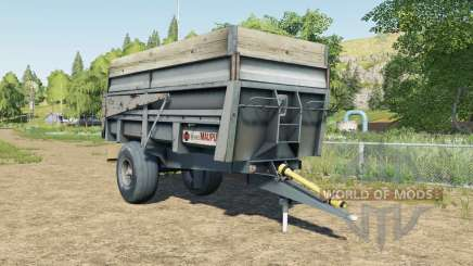 Maupu 10T для Farming Simulator 2017