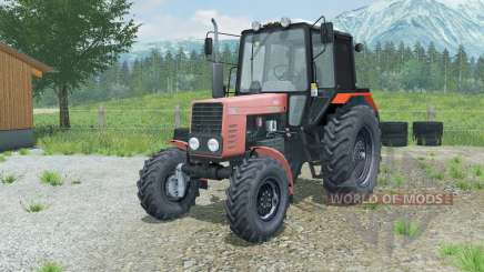 МТЗ-82.1 Беларус мягко-красный для Farming Simulator 2013