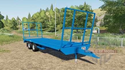 Robo bale trailer для Farming Simulator 2017