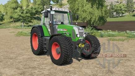 Fendt 818 Vario TMS north texas green для Farming Simulator 2017