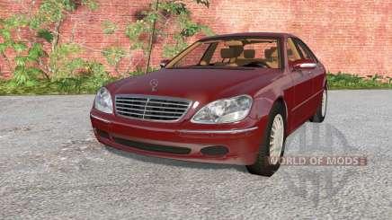 Mercedes-Benz S 600 (W220) 2002 для BeamNG Drive