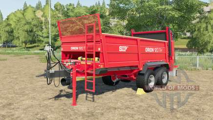 SIP Orion 120 TH tyre selection для Farming Simulator 2017
