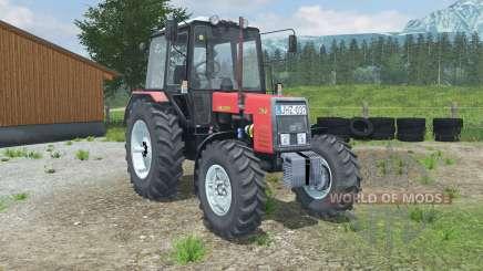 МТЗ-1025 Беларус светло-красный для Farming Simulator 2013