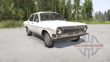 ГАЗ 24-10 Волга v1.1 для MudRunner