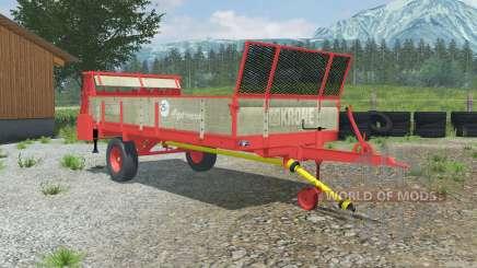 Krone Optimat 4.5 для Farming Simulator 2013