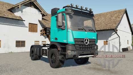 Mercedes-Benz Arocs AS 4x4 для Farming Simulator 2017