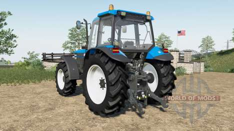 New Holland 8340 Powerstar SLE для Farming Simulator 2017