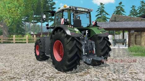 Fendt 718 Vario для Farming Simulator 2015