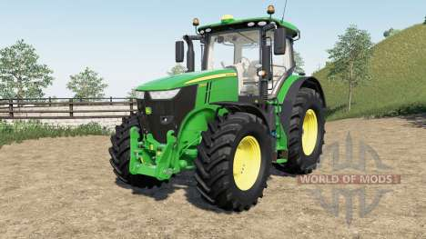 John Deere 7R-series для Farming Simulator 2017