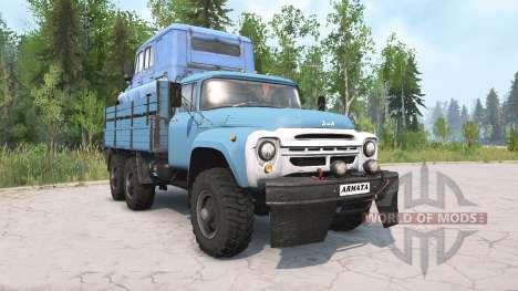 ꞫиЛ-130Г 6x6 для Spintires MudRunner