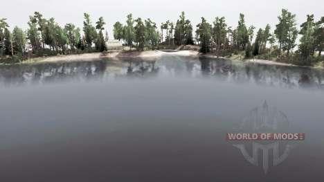 Озеро для Spintires MudRunner