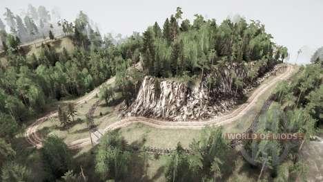 Западные пригороды для Spintires MudRunner
