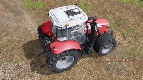 Massey Ferguson 6600 для Farming Simulator 2017