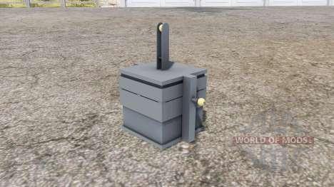 Front weight 900 kg. для Farming Simulator 2013