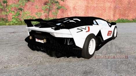Lamborghini Aventador SVJ 2018 для BeamNG Drive