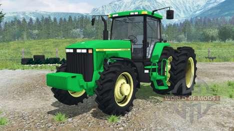 John Deere 8400 для Farming Simulator 2013