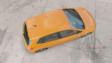 Volkswagen Polo R-Line (Typ AW) 2017 для American Truck Simulator