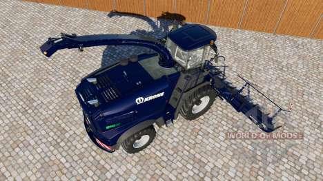 Krone BiG X 1100 для Farming Simulator 2017