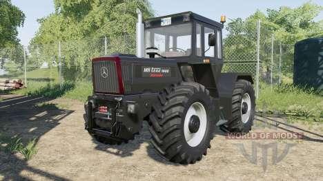 Mercedes-Benz Trac 1000 для Farming Simulator 2017