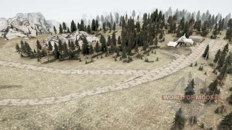 Новая земля для Spintires MudRunner