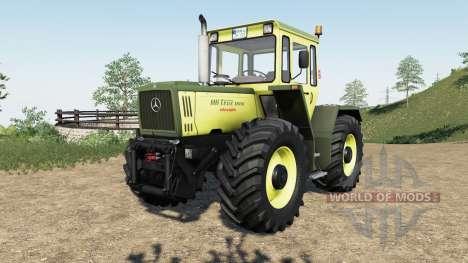 Mercedes-Benz Trac для Farming Simulator 2017