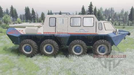 ГАЗ-59037 для Spin Tires