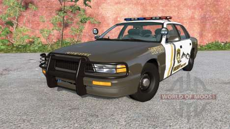 Gavril Grand Marshall Mano County Sheriff для BeamNG Drive