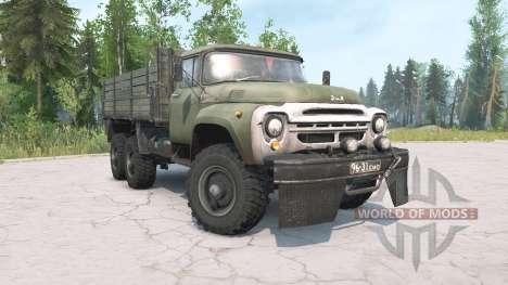 ЗиЛ-130Г 6x6 для Spintires MudRunner