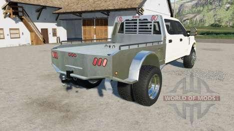 Ford F-450 Super Duty Platinum Crew Cab 2017 для Farming Simulator 2017