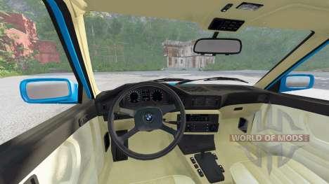 BMW M5 (E28) 1985 для BeamNG Drive