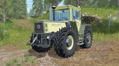 Mercedes-Benz Trac 1800 Intercooler для Farming Simulator 2017