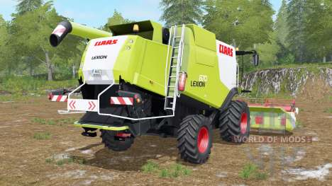 Claas Lexion 670 для Farming Simulator 2017