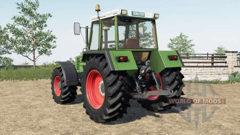 Fendt Favorit 600 LSA Turbomatik E для Farming Simulator 2017