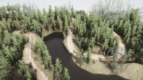 Сибирь безлюдная для Spintires MudRunner