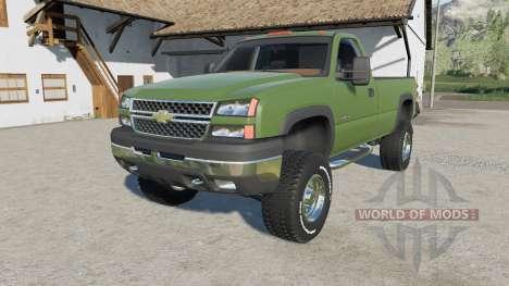 Chevrolet Silverado 2500 HD Regular Cab 2006 для Farming Simulator 2017