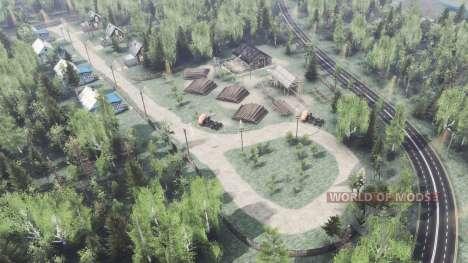 Деревня Урняк для Spin Tires