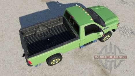 Ford F-350 Super Duty Regular Cab 2011 для Farming Simulator 2017