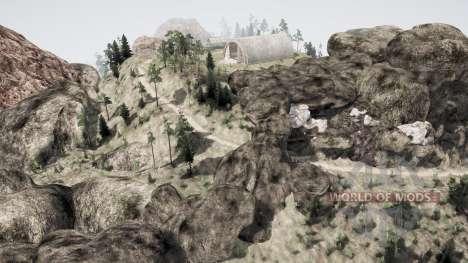 Долина 2 для Spintires MudRunner