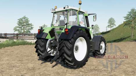 Fendt Favorit 700 Vario для Farming Simulator 2017